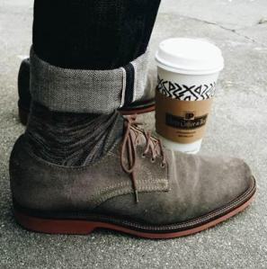 @Peets_Tweets tweeted: The first step to a perfect day. (credit: @thedressedchest) #Peets #Coffee